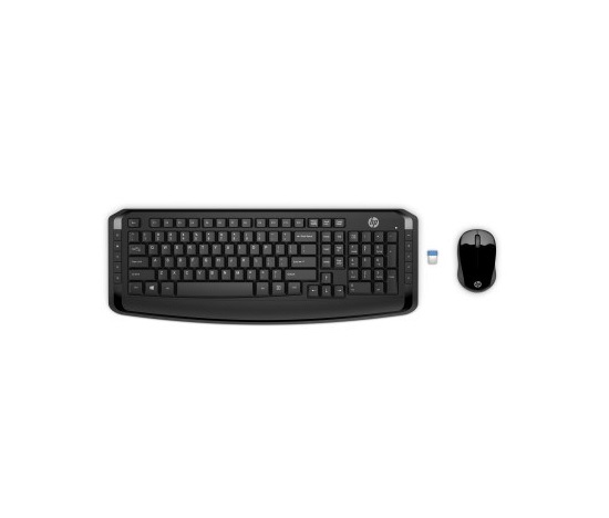 HP Wireless Combo 300 – KEYBOARD – španělská