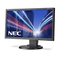 "NEC MT 23"" LCD MuSy E233WM Black W-LED,1920x1080 DP+DVI+VGA"