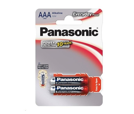 PANASONIC Alkalické baterie - Everyday Power  AAA 1,5V 2ks