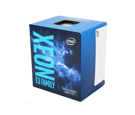 CPU INTEL XEON E3-1220 v6, LGA1151, 3.00 GHz, 8MB L3, BOX