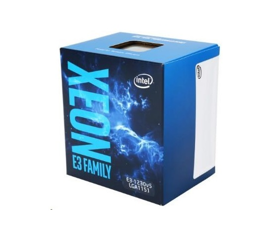 CPU INTEL XEON E3-1230 v6, LGA1151, 3.40 GHz, 8MB L3, 4/8, 72W, BOX