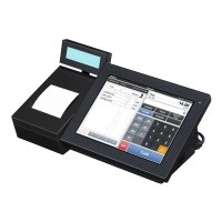 Cash box for electronic records of sale